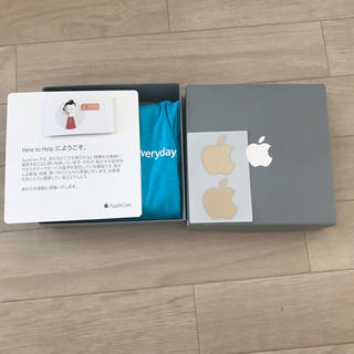アップル(Apple)の非売品 超レア Apple Care スタッフ Tシャツ Mサイズ(Tシャツ/カットソー(半袖/袖なし))