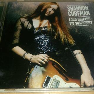 Shannon Curfman ラウド・ギター・ビッグ・サスピションズ(ブルース)