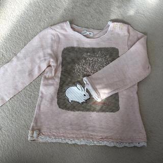 ビケット(Biquette)のうさぎのロンT(Tシャツ/カットソー)