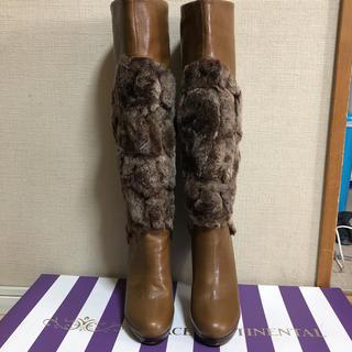 コブラ(COBRA)のお値下げ  COBRA  ファーブーツ(ブーツ)