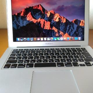 マック(Mac (Apple))のMacbook air 13 inch(ノートPC)