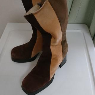 デアディア(DeaDia)のスエードブーツ DEADIA(ブーツ)