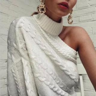 アナップラティーナ(ANAP Latina)のデザイン♡ワンショルダー♡ニット♡(ニット/セーター)