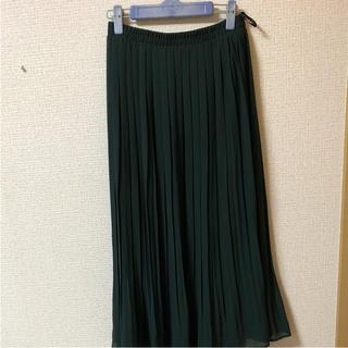 シマムラ(しまむら)のプリーツスカート  L(ロングスカート)
