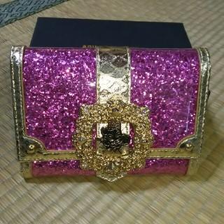 アッシュアンドダイアモンド(ASH&DIAMONDS)の未使用 アッシュ&ダイヤモンド ミニー ピンク 財布(財布)