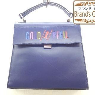 ゴールドファイル(GOLD PFEIL)のゴールドファイルレザー ミニ・ハンドバッグ/ヴィンテージ/[7821](ハンドバッグ)