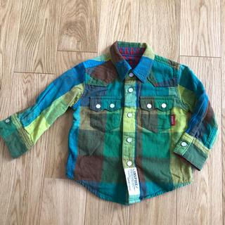 ドンキージョシー(Donkey Jossy)の美品 チェックシャツ (Tシャツ/カットソー)