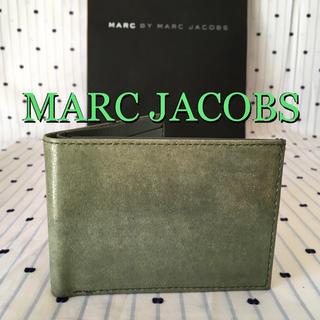マークバイマークジェイコブス(MARC BY MARC JACOBS)のマークジェイコブスMARCbyMARCJACOBS限定クラックレザーウォレット(折り財布)