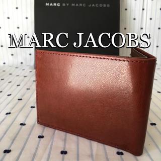 マークバイマークジェイコブス(MARC BY MARC JACOBS)のマークジェイコブスMARCbyMARCJACOBS海外クラックレザーウォレット(折り財布)