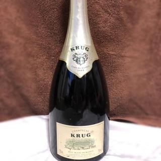 クリュッグ(Krug)のKRUG クリュッグ クロ・デュ・メニル1995 (シャンパン/スパークリングワイン)