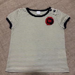 シップス(SHIPS)のコサージュ付きTシャツ(Tシャツ/カットソー)