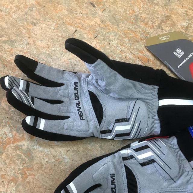 パールイズミ スマホ対応 ウインドブレーク冬グローブ気温5度対応 Mサイズ スポーツ/アウトドアの自転車(ウエア)の商品写真