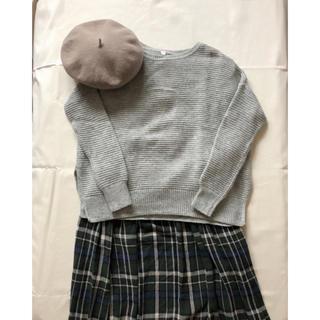 ムジルシリョウヒン(MUJI (無印良品))のグレーセーター(ニット/セーター)