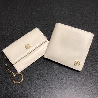 シャネル(CHANEL)のシャネル  ココボタン 折財布&マルチケース(財布)