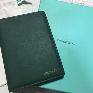 ティファニー(Tiffany & Co.)のティファニー パスポートケース(旅行用品)