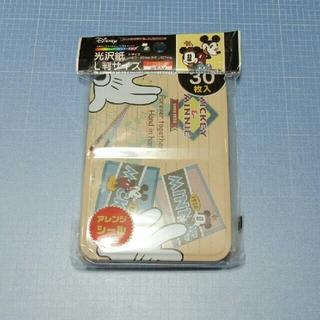 ディズニー(Disney)の缶入り 光沢紙L判サイズ 30枚「ミッキー&ミニー」(その他)