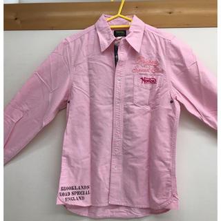 ノートン(Norton)のNorton シャツ ピンク Mサイズ 美品(Tシャツ/カットソー(七分/長袖))