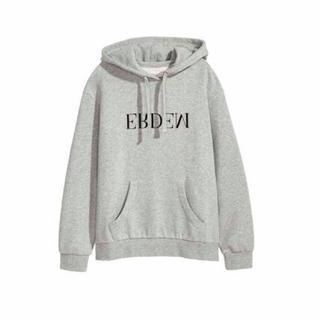 アーデム(Erdem)の【新品】Mサイズ H&M x erdemコラボ 限定 パーカー グレー(パーカー)