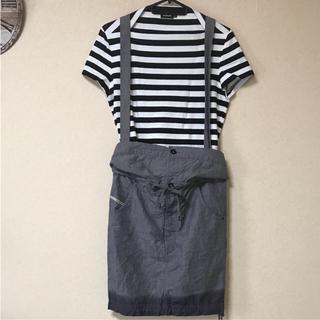 ディーゼル(DIESEL)の●ディーゼル サロペット スカート   グレー   サイズ1 (サロペット/オーバーオール)