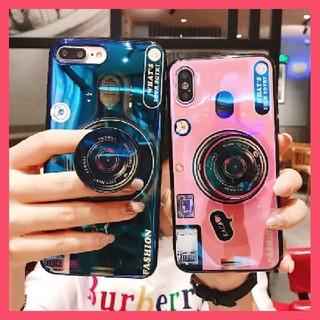 最安値【新品】カメラ風♥️iphoneケース(iPhoneケース)