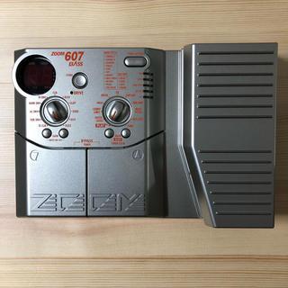 ズーム(Zoom)のZOOM 607 BASS(ベースエフェクター)