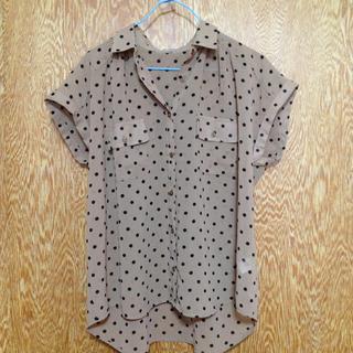 ジーユー(GU)のgu♪シャツ(シャツ/ブラウス(半袖/袖なし))
