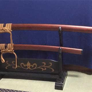 日本刀 模造刀 彫金竜 (ビンテージ品) (武具)