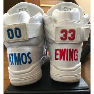 ユーイングアスレチックス(Ewing Athletics)のEWING ATHLETICS × atmos 33 HI 27cm(スニーカー)