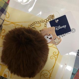 ディズニー(Disney)のファーチャーム チップ(バッグチャーム)