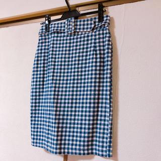 メリージェニー(merry jenny)のウエストベストタイトスカート(ひざ丈スカート)