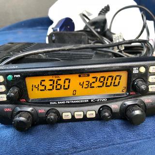 ICOM IC-2720 アマチュア 無線機(アマチュア無線)