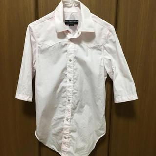 バレンシアガ(Balenciaga)のBALENCIAGA 半袖シャツ(Tシャツ/カットソー(半袖/袖なし))