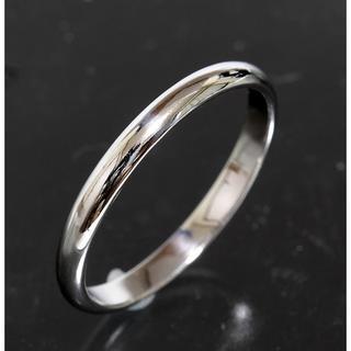 カルティエ(Cartier)のカルティエ cartier シンプル リング size57 pt950 新品仕上(リング(指輪))