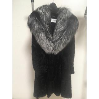 ギラロッシュ(Guy Laroche)の高品質☆銀狐&ミンク毛皮コート(毛皮/ファーコート)