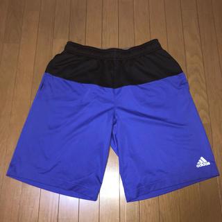アディダス(adidas)のadidas ハーフパンツ メンズ L ブルー/ブラック(その他)