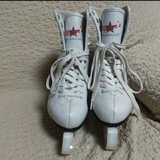 フィギュアスケート靴 24.0(ウインタースポーツ)