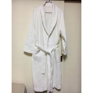 ムジルシリョウヒン(MUJI (無印良品))の無印 バスローブ ワッフル素材 綿100% 男女兼用(ルームウェア)