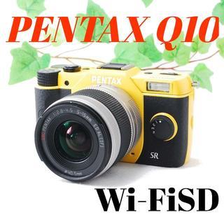 ペンタックス(PENTAX)の❤️シャッター回数わずか620枚❤️豪華おまけ付き❤️PENTAX Q10(ミラーレス一眼)
