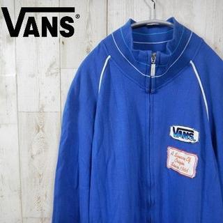 ヴァンズ(VANS)のVANS 90sワンポイント スウェット ビッグシルエット L ブルー(スウェット)