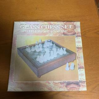 チェス ガラス製  (オセロ/チェス)