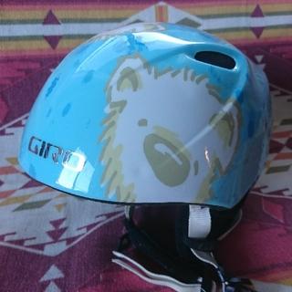 ジロ(GIRO)のGIRO ジロ キッズ スキー スノボ ヘルメット 熊 クマ(ウエア/装備)