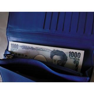 シャネル(CHANEL)の【確認用】シャネルCHANEL 長財布 カメリア マトラッセ ブルー青(財布)