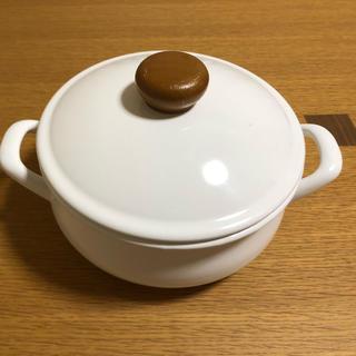 ノダホーロー(野田琺瑯)の野田琺瑯 両手鍋(鍋/フライパン)