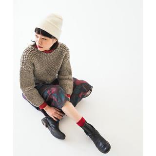 シンディー(SINDEE)のSINDEE 手編みニット Warm KNIT セーター シンディー(ニット/セーター)