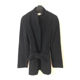 スタイルコム(Style com)のブラックコート(ロングコート)