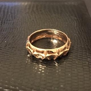 SJX スターバンドリング K18 ピンクゴールド(リング(指輪))