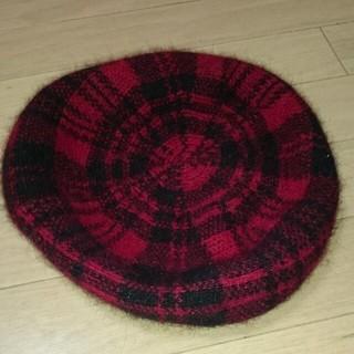 マウジー(moussy)のmoussyベレー帽(ハンチング/ベレー帽)