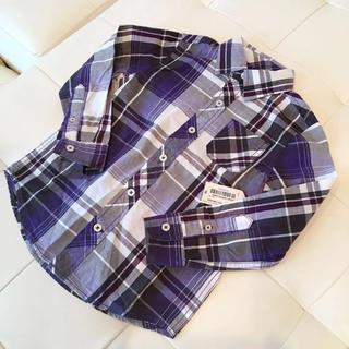 アリゾナ(ARIZONA)の【新品タグ付き】ARIZONA JEAN CO♡チェックシャツ 5歳(ブラウス)