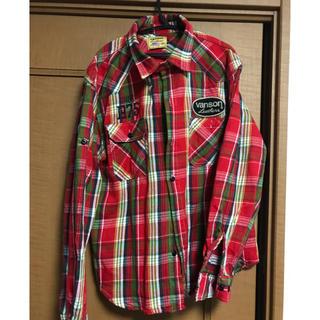 バンソン(VANSON)のvanson  チェックシャツ(シャツ)
