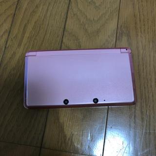 ニンテンドー3DS(ニンテンドー3DS)の3ds ピンク(携帯用ゲーム機本体)